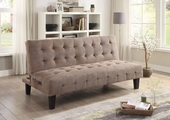 Brown Wood Sofa Bed