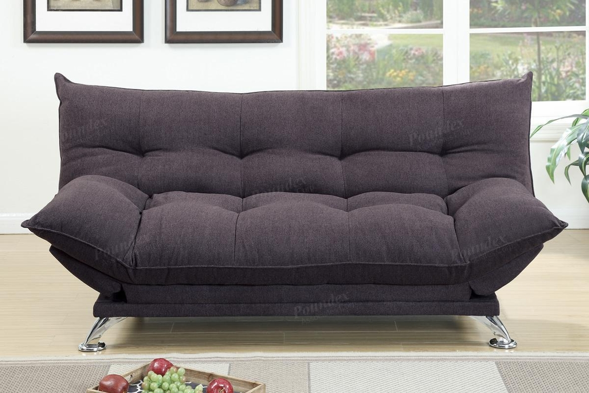 Brown Fabric Sofa Bed Steal A Sofa Furniture Outlet Los