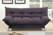 Cap Brown Fabric Sofa Bed