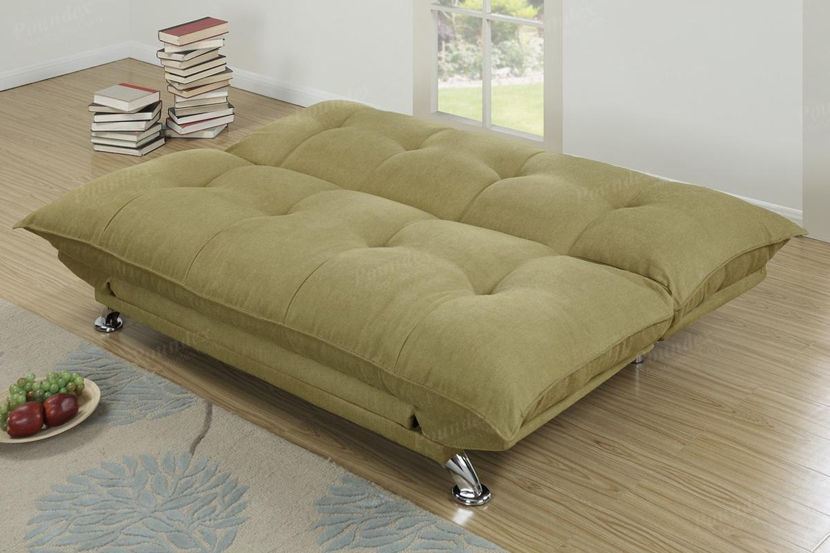 Green Fabric Sofa Bed Steal A Sofa Furniture Outlet Los
