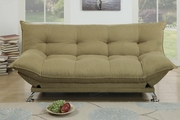 Cap Green Fabric Sofa Bed