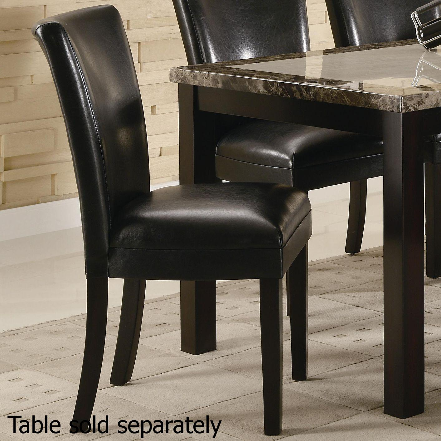 Black Wood Dining Chair Steal A Sofa Furniture Outlet Los Angeles CA