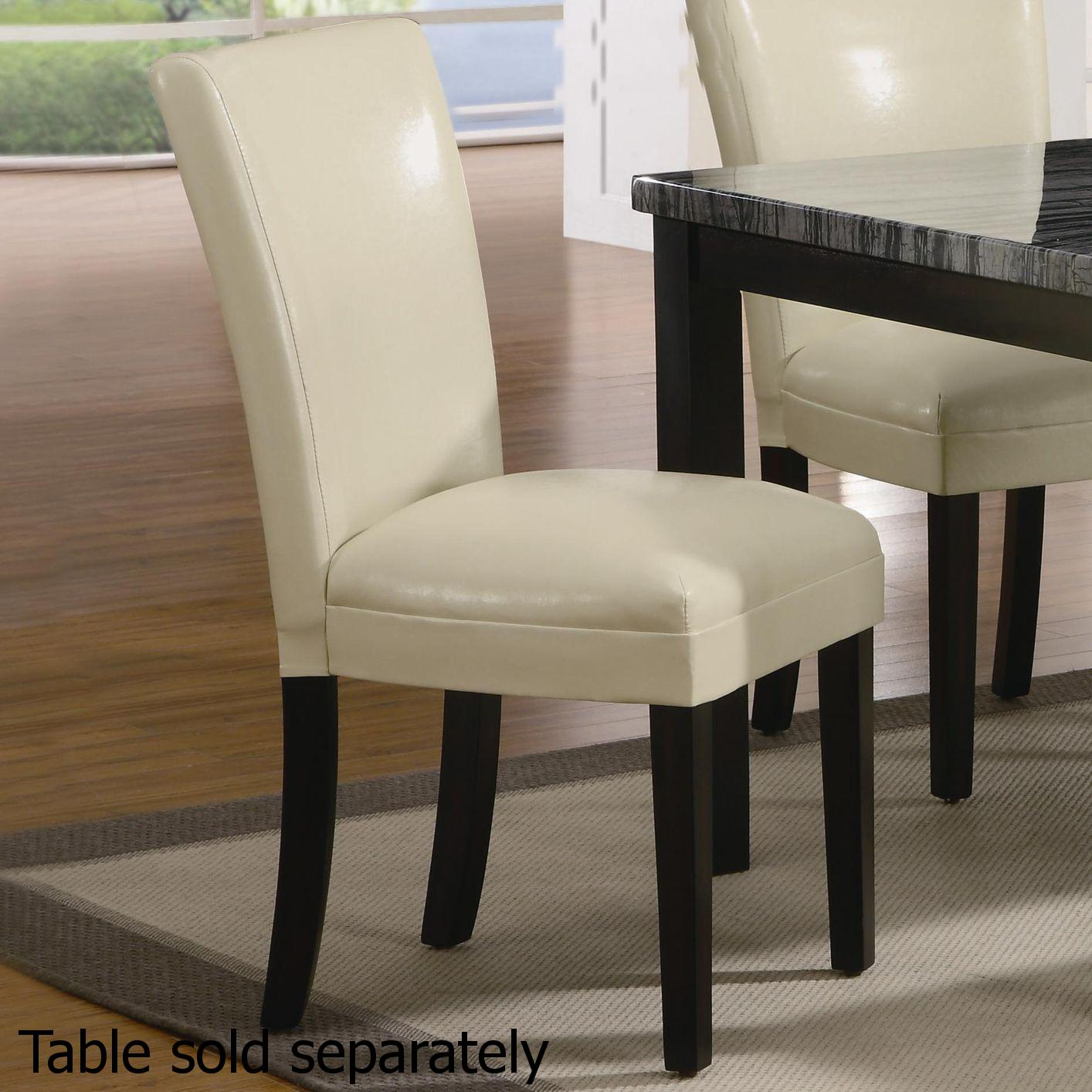Beige Wood Dining Chair Steal A Sofa Furniture Outlet Los Angeles CA