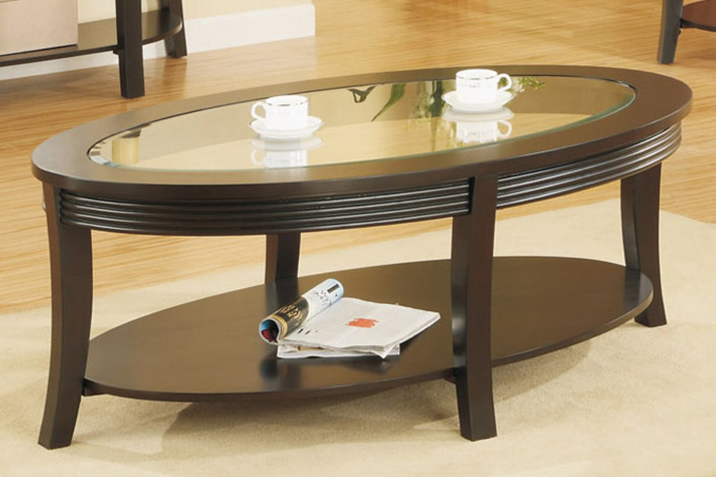 Brown Glass Coffee Table Steal A Sofa Furniture Outlet Los Angeles Ca