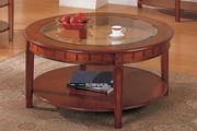 Brown Wood Coffee Table
