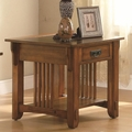 Colton Brown Wood End Table