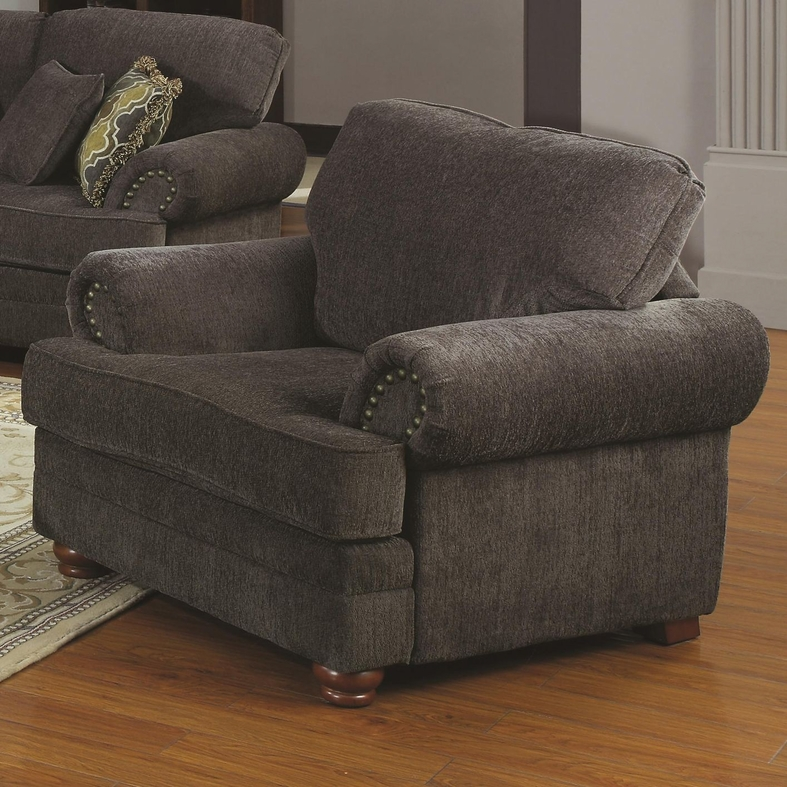 Grey Fabric Chair Steal A Sofa Furniture Outlet Los