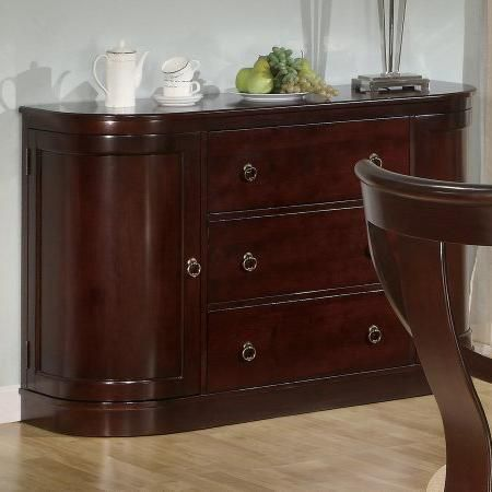Cresta Cherry Wood Buffet Table