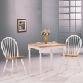 Damen Natural Wood Dining Table Set