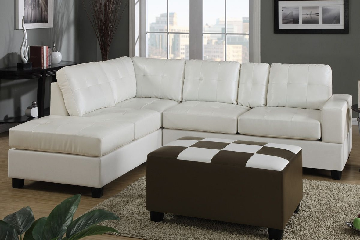white sectional couch dante bonded leather sectional sofa a sofa 28985
