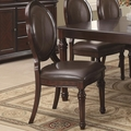 Davina Brown Cherry Chairs (Min Qty 2)