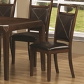 Davina Dark Oak Chairs (Min Qty 2)