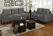 Davos Sofa, Loveseat and Ottoman Set