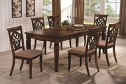 Dining 1033 Oak Wood Dining Table Set