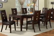 Divel 7pc Dining Table and Chair Set