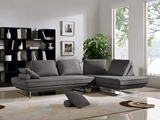 Dolce Grey Fabric Sectional Sofa