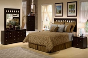 Duvall Queen Headboard, Dresser, Mirror, One Nightstand
