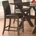 Emerson Cappuccino Wood Pub Stool (Min Qty 2)