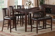 Farra 6pc PubTable and Chair Set