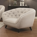 Faymoor Beige Fabric Chair