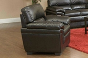 Fenmore Black Leather Chair