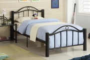 Black Metal Full Size Bed
