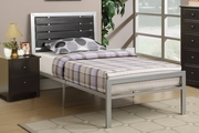 Brown Metal Full Size Bed