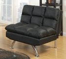 Black Leather Adjustable Chair