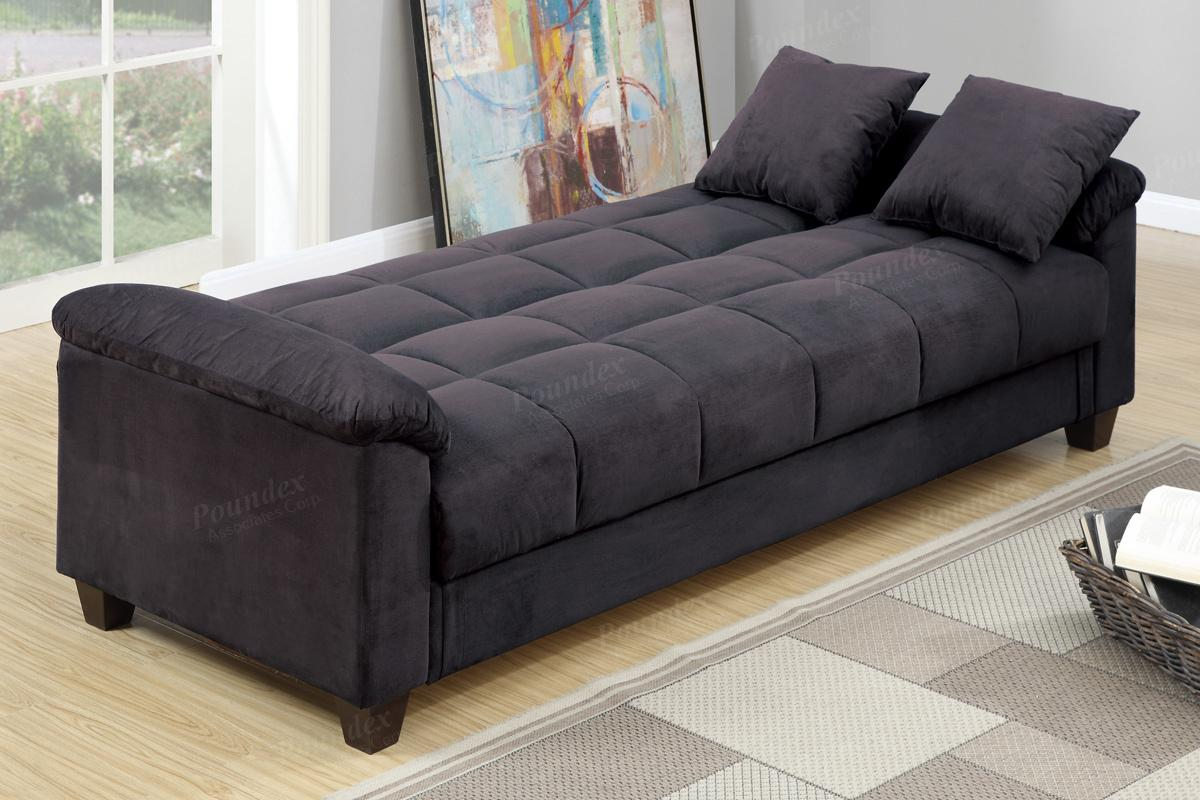 Fabric Sofa Beds Black Fabric Sofa Bed Steal A Furniture