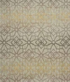 Gold Fabric Floor Rug