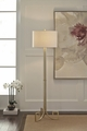 Gold Metal Floor Lamp