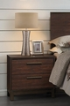Gold Wood Nightstand