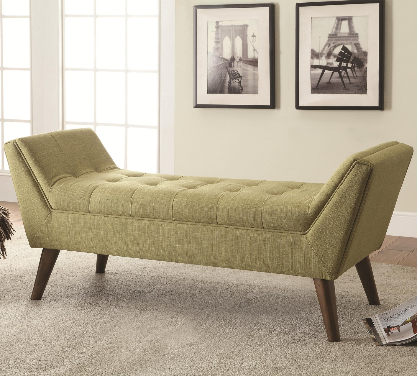 Marvelous Rolled Arm Bench With Storage Top Tufted Rolled Arm Sofa Pabps2019 Chair Design Images Pabps2019Com