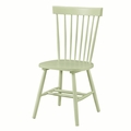 Green Wood Dining Chair