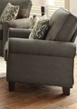 Noella Grey Fabric Chair