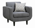 Stansall Grey Fabric Chair