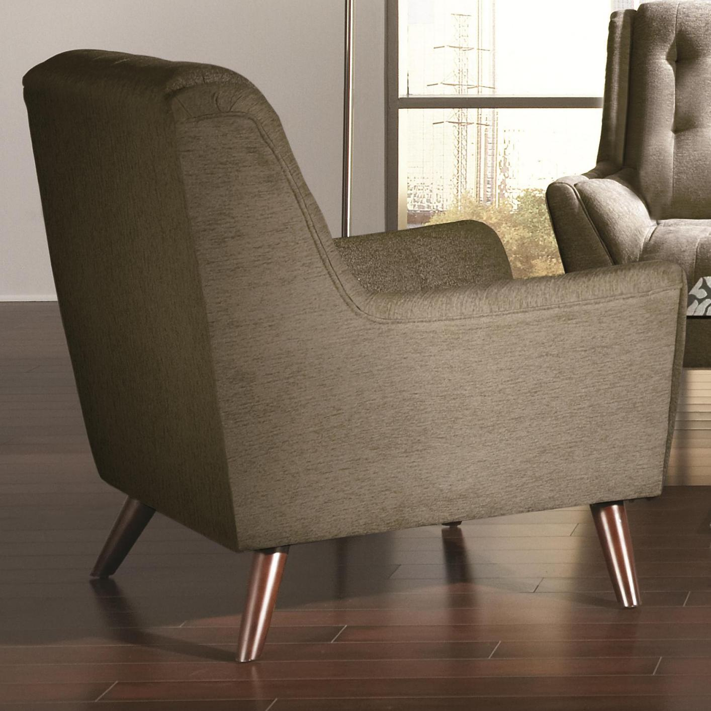 Natalia Grey Fabric Chair Steal A Sofa Furniture Outlet Los