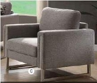 Grey Fabric Chair