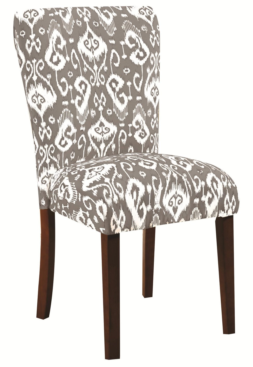 Coaster 104049 grey fabric dining chair steal a sofa furniture outlet los angeles ca - Grey fabric dining room chairs designs ...