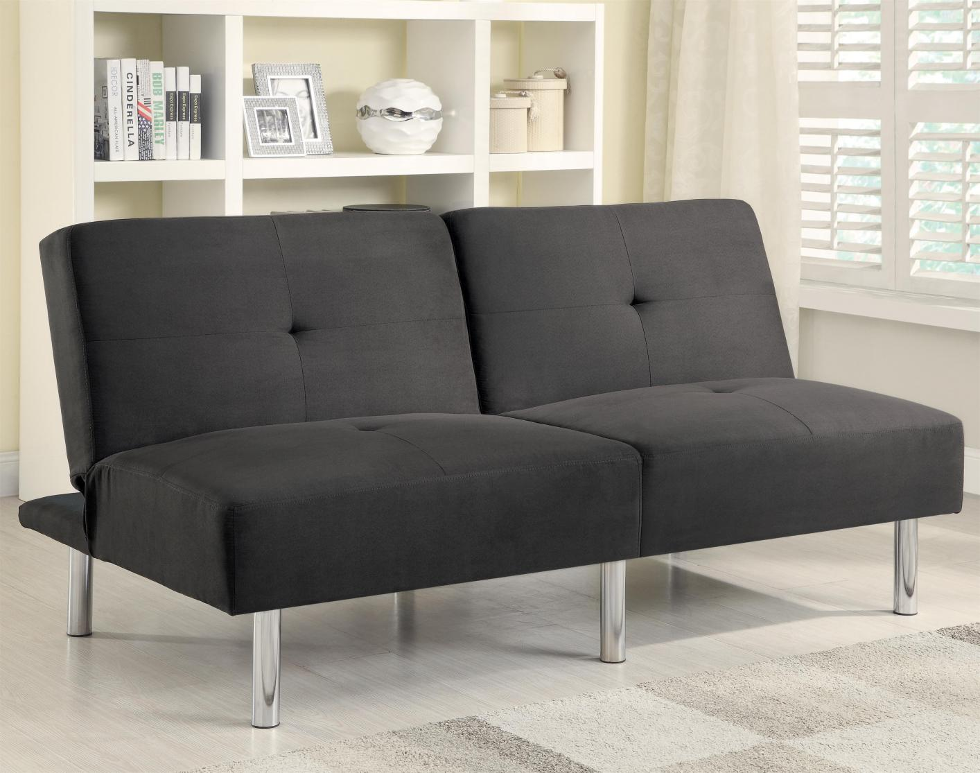 Grey Fabric Futon