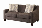 Avondale Grey Fabric Loveseat