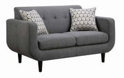 Stansall Grey Fabric Loveseat