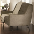 Natalia Grey Fabric Loveseat