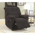 Grey Fabric Power Reclining Chair