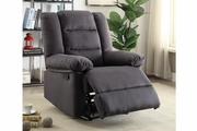 Grey Fabric Reclining Chair