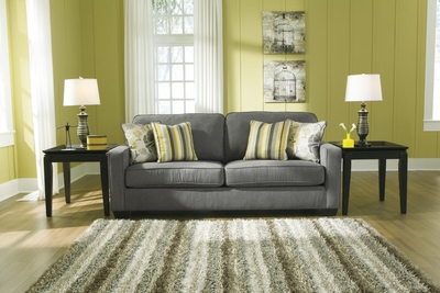 Grey Fabric Sofa