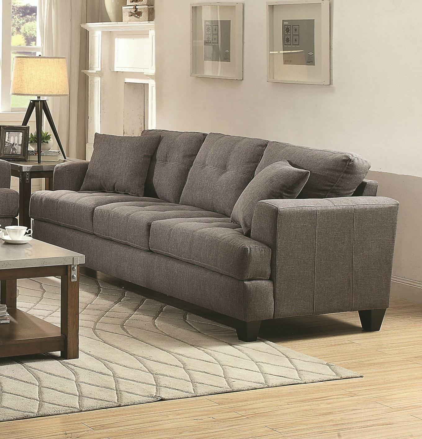 Grey Fabric Sofa Steal A Sofa Furniture Outlet Los Angeles CA