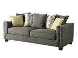 Kelvington Grey Fabric Sofa