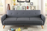 Grey Fabric Sofa Bed