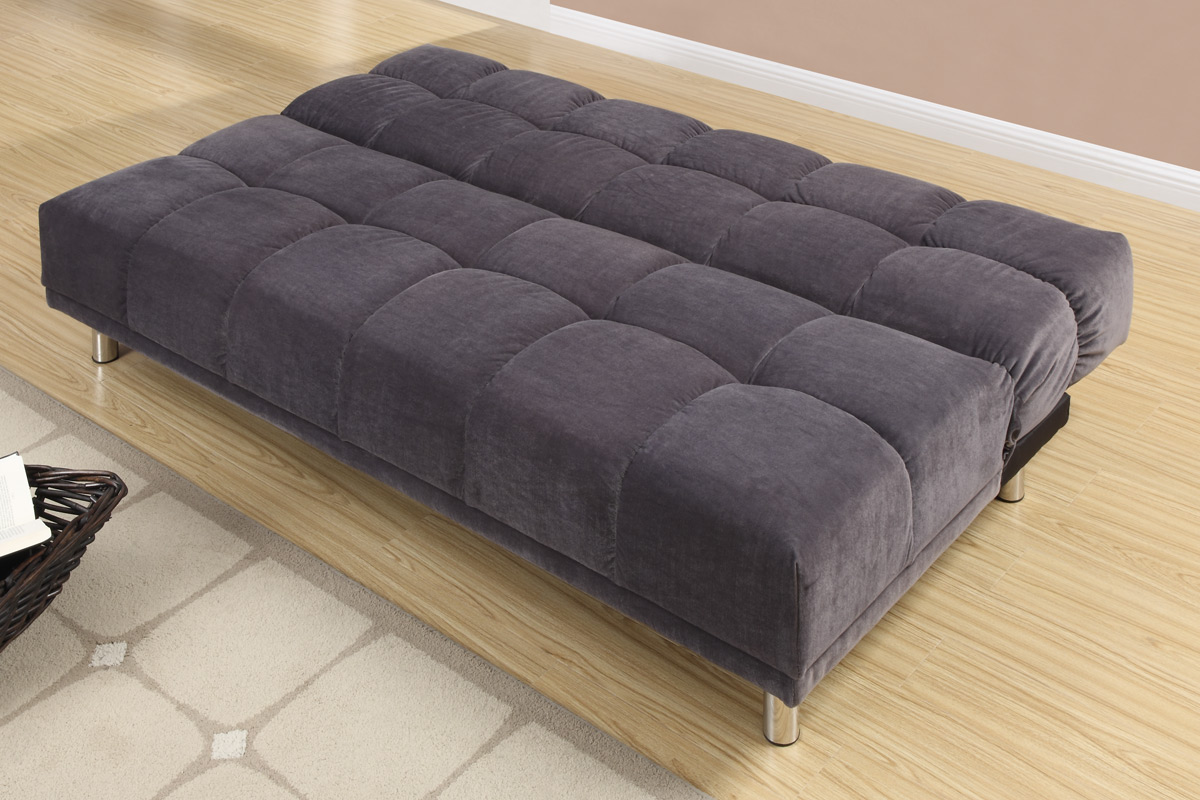Grey Fabric Sofa Bed Grey Fabric Sofa Bed ...